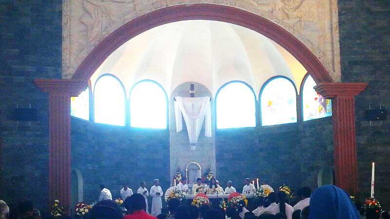 Ibadah Paskah di Gereja St Petrus Kanisius Wonosari. Dok: KH.