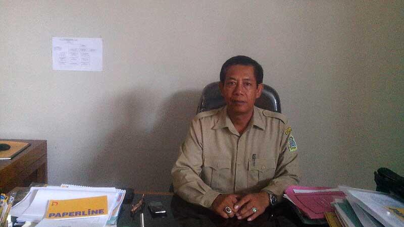Saryanto, Kadisbudpar Kabupaten Gunungkidul. KH/Atmaja.