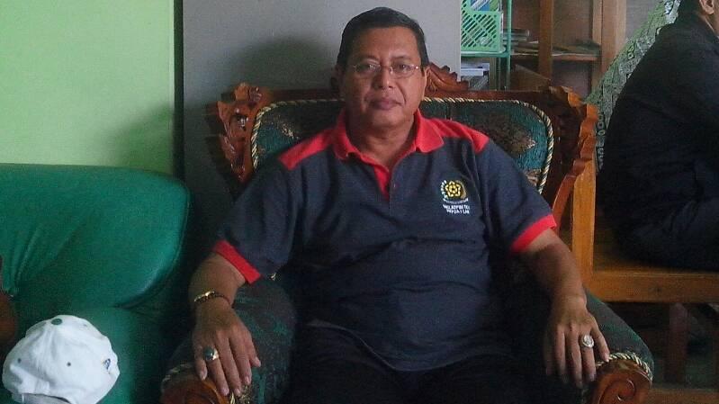 Kepala Dinas Kehutan dan Perkebunan Kabupaten Gunungkidul, Ir. Bambang Wisnu Broto. Foto : Atmaja