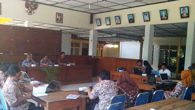 Rencana penerapan SID di Kecamatan Semanu. Foto: Atmaja.