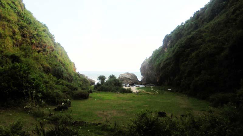 Pantai Wohkudu, Girisekar, Panggang. KH/Hari.