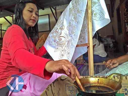 Batik Kepek Wonosari. KH/Juju.