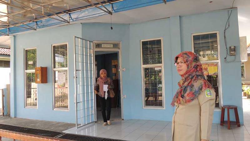Gedung pelayanan administrasi satu pintu di Kantor Kecamatan Panggang. KH/Kandar.