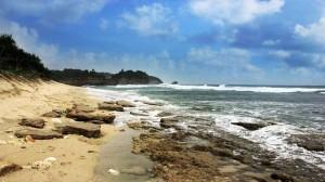 Pantai Watu Kodok Tanjungsari. Foto : Arsip KH