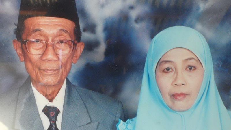 H Haboedin dan Hj Siti . KH/Sarwo.