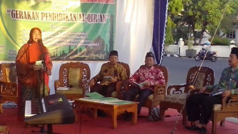 Bupati Gunungkidul hadiri dialog interaktif Badko TKA/TPA Gunungkidul. KH/Kandar.