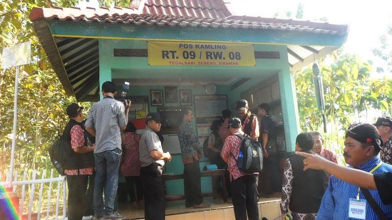 Pos Kamling Pintar Tegalsari Siraman, wahana pengembangang budaya masyarakat gemar membaca. KH/Sarwo.