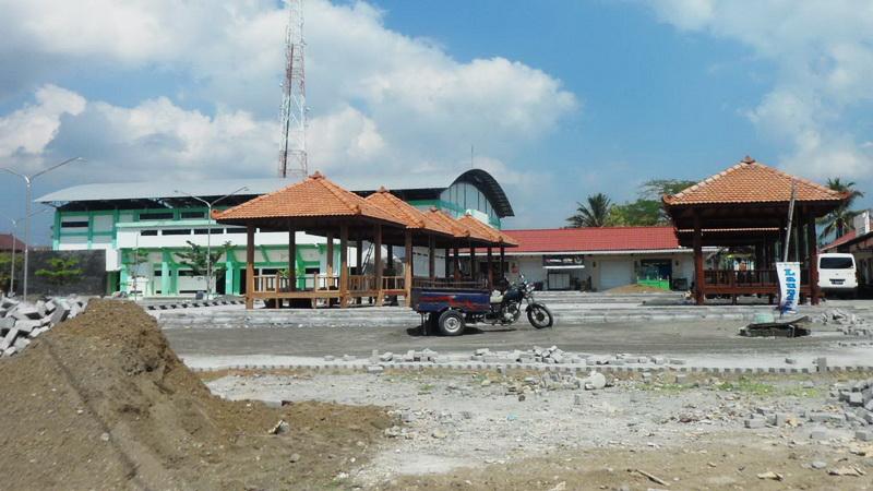 Pembangunan Rest Area Siyono Playen. KH/Sarwo.