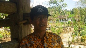 Kepala Disbudpar Saryanto, Kabupaten Gunungkidul. KH/Atmaja.