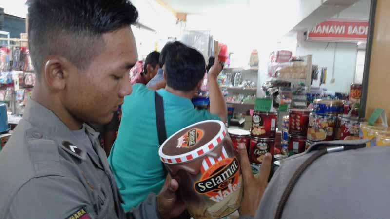 Rasia makanan. Foto : Andri