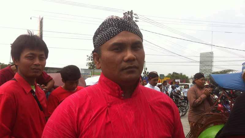Suharjo dari PDIP. Foto : Andri.