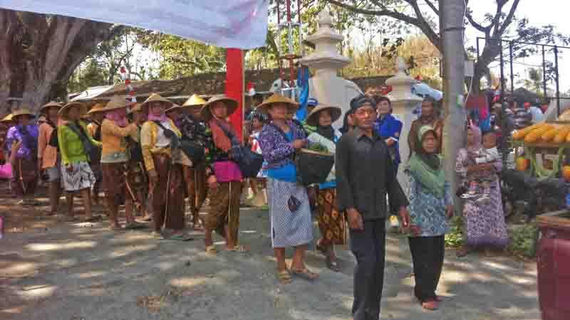 Kirap warga Banyusuco. Foto : KH/Maria Dwianjani