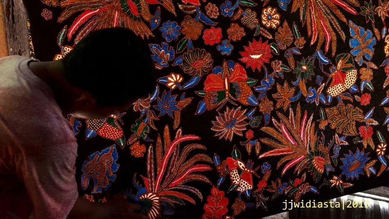 Salah satu produk batik tulis di sentra industri Batik Tancep, Ngawen Gunungkidul. Dok: KH.