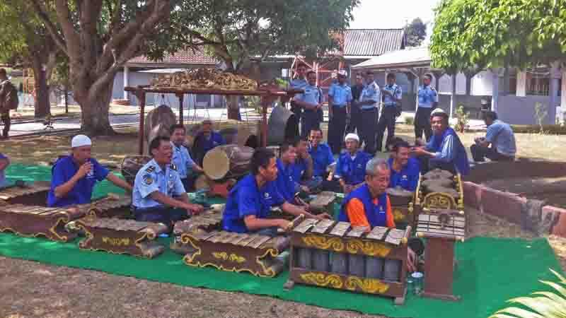 Penampilan dalam karawitan. Foto : KH/Dwianjani