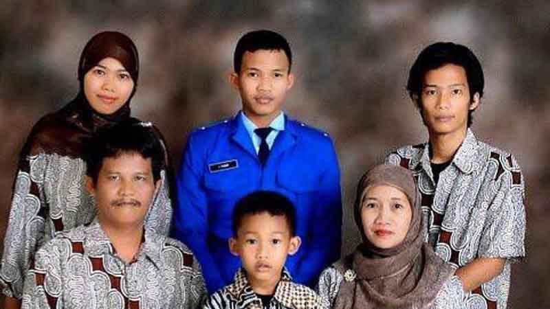 Keluarga Angger Pandu Yudha
