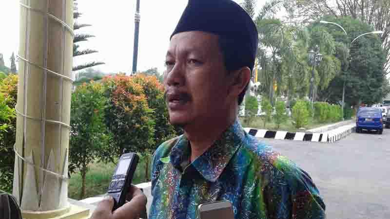 Kasi Haji dan Umroh Kemenag Gunungkidul, Mukhotib. Foto : KH/Dwianjani