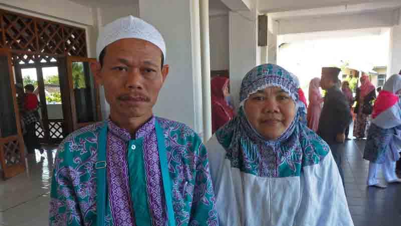 Pasangan Widodo - Maryati. Foto : KH/Sarwo