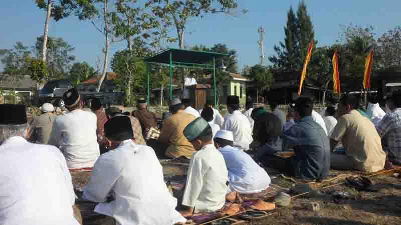 Suasana shalat Idhu Adha. Foto : KH/Sarwo