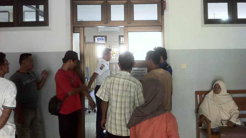 Rumah sakit dimana Joparto dibawa. Foto : KH/Dwianjani
