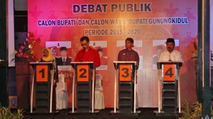 Debat Publik Cabup Gunungkidul