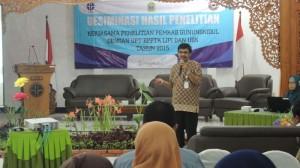 Hardi Julendri Kepala UPT BPPTK LIPI. Foto: Kandar/ KH