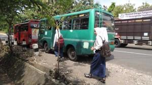 Armada angkutan umum di Gunungkidul, Foto: Doc. KH