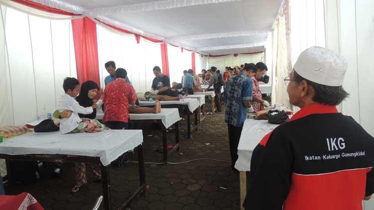 Pelaksanaan sunatan massal IKG, Foto: KH/ Kandar