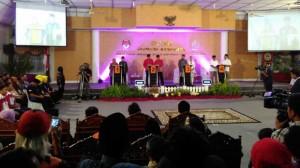 Acara Debat Paslon Cabup Cawabup Di Gedung DPRD Beberapa Waktu Lalu, Foto: KH/ Kandar