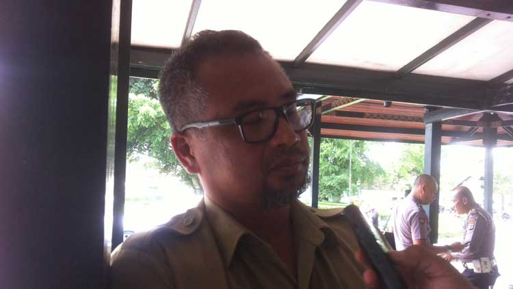 Hari Sukmono, Kepala Bidang Pengembangan Produk Wisata Disbudpar Gunungkidul, Foto: KH/ Maria Anjani
