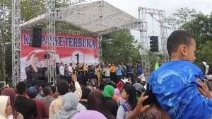 Kampanye Terbuka Ba-Im di Lapangan Piyaman. Foto: KH/ Kandar