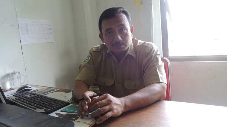 Drs Rosyidin MM, Kasi Pengelolaan Data dan Informasi, Disdukcapil Gunungkidul, Foto: KH/ Kandar