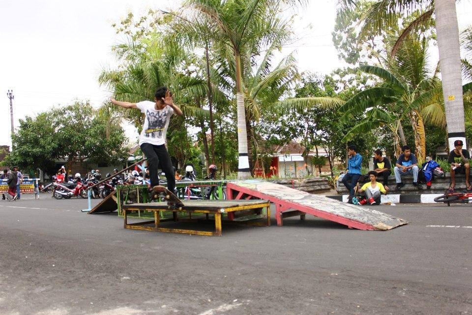 Komunitas Skate board, Foto: Dok. komunitas