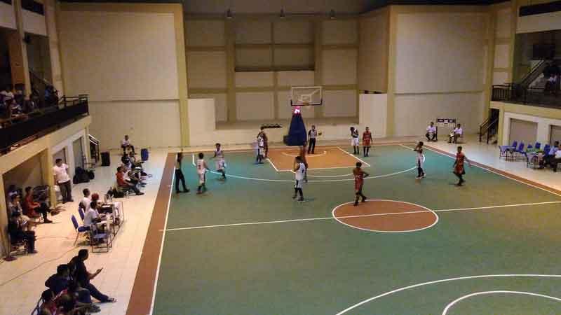 Final basket Kejurkab U18. KH/Edo.