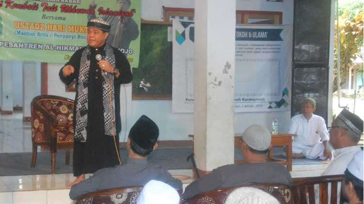 Harry Moekti berceramah, Foto: KH/ Sarwo