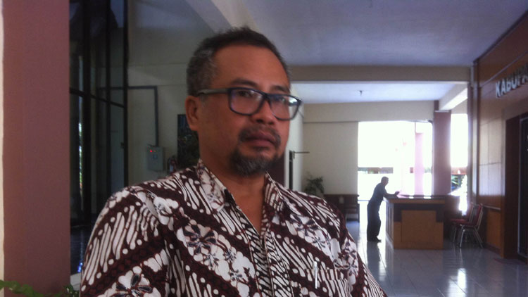 Kabid Pengembangan Produk Wisata Disbudpar Kabupaten Gunungkidul, Harry Sukmono. KH/ Maria Dwianjani