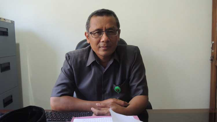 Panitera Muda Hukum Pengadilan Agama Gunungkidul, Muslih SH MH, Foto: KH/ Kandar