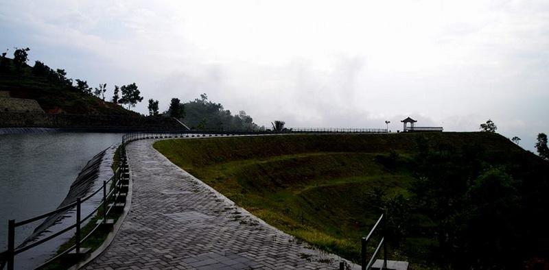 Embung Batara Sriten di Desa Pilangrejo Nglipar. KH/WG.