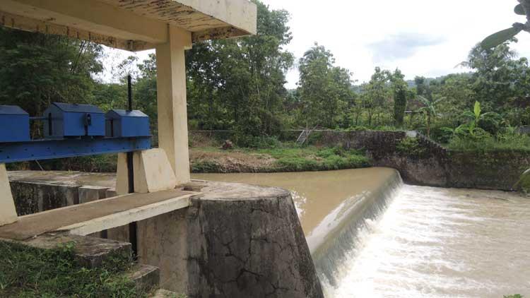 Dam Payaman di Rejosari, Semin. KH/ Kandar