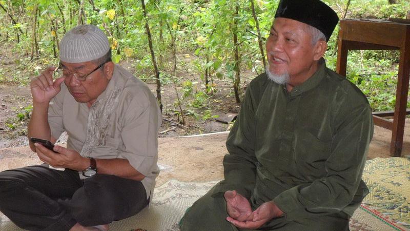 Pengajian di PP Al Hikmah Sumberejo Karangmojo. KH/Sarwo.