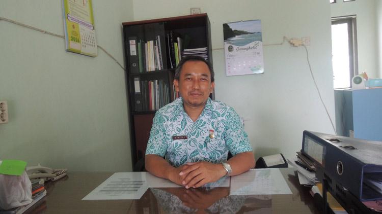 Kabid Pencegahan dan Penanggulangan Penyakit Dinkes Gunungkidul, dr. Sumitro. KH/ Kandar