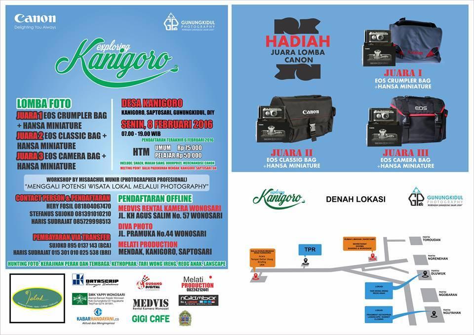 """Poster kegiatan """"Explore Kanigoro. dok. GP"""