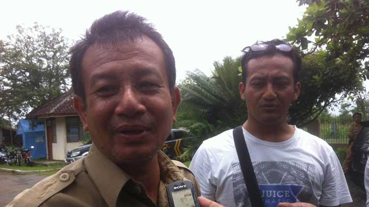 Kepala Dinas Kesehatan Kabupaten Gunungkidul, Agus Prihastoro. KH/ Maria Dwianjani