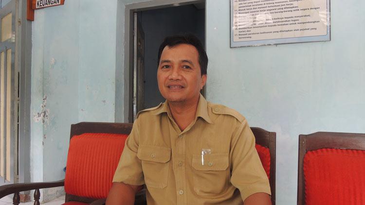 Agus APriyanto, Kepala DKP Gunungkidul. KH/ Kandar