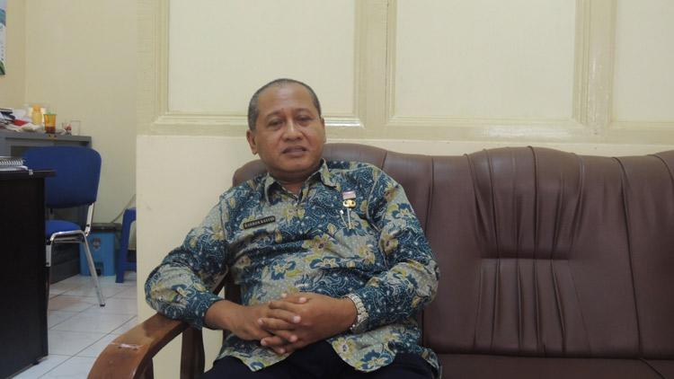 Bahron Rasyid, Sekertaris Disdikpora Gunungkidul. KH/ Kandar