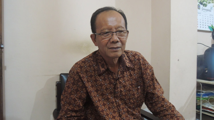Ketua Dewan Budaya, CB Supriyanto. KH/ Kandar