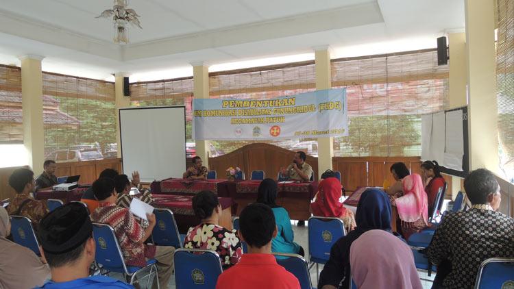 Pembentukan FKDG Kecamatan Patuk, KH/ Kandar