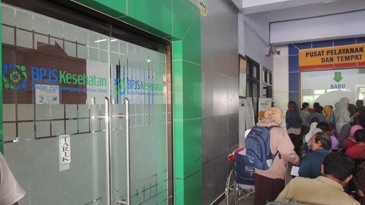 Ruang tunggu di RSUD Wonosari. KH/ Kandar