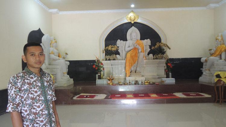 Ketua Muda Mudi Buddhis Gunungkidul, Sugeng Riyanto S Ag . KH/ Kandar