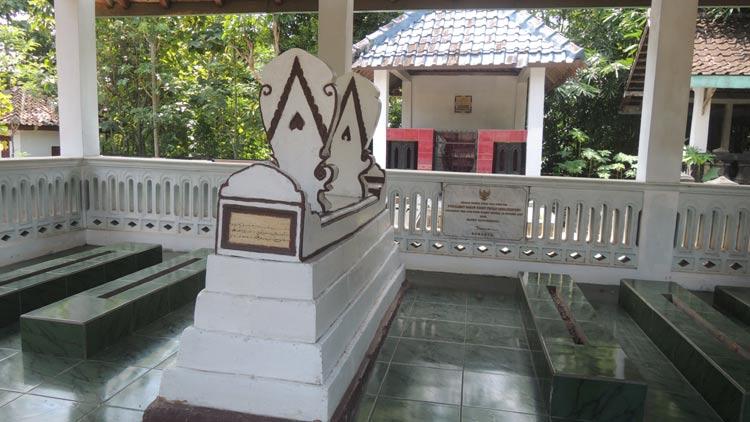Makam Panji Hardjodipuro, di Padukuhan Semanu Kidul, Desa Semanu, Kecamatan Semanu, Gunungkidul. KH/ Kandar