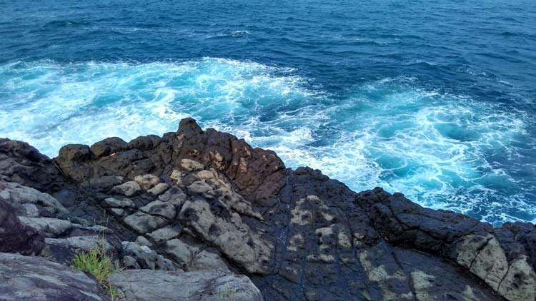 Nggrendan, wilayah Pantai Wediombo, lokasi terjadinya laka laut. KH/ Rado